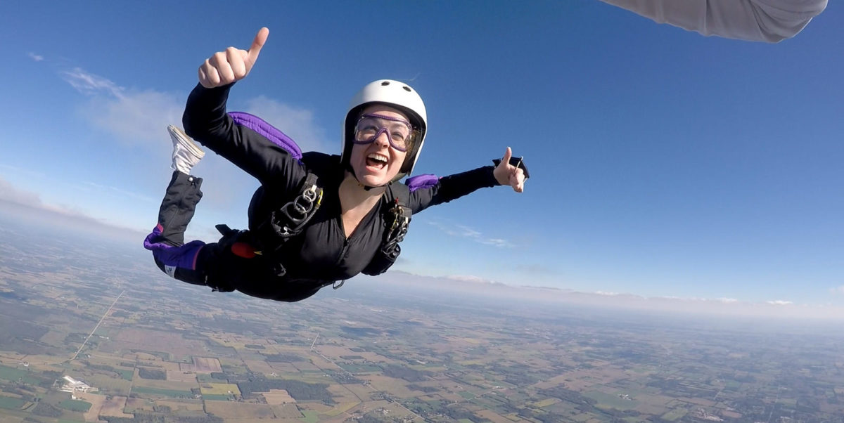 How to Skydive for the First Time recommend