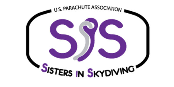 US Parachute Association Sisters in Skydiving Logo