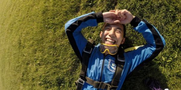 Is skydiving bad for your back? Wisconsin Skydiving Center near Milwaukee