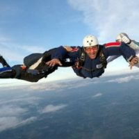 Accelerated Free Fall (AFF) is a great way to get your skydiving license at Wisconsin Skydiving Center near Milwaukee, WI