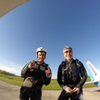 Two experienced instructors at Wisconsin Skydiving Center near Milwaukee, WI