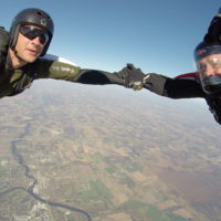 What is a skydiving cutaway?