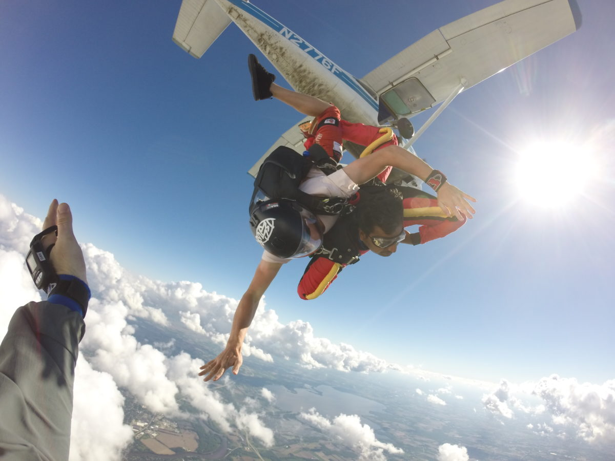 Skydiving deaths are very rare since modern equipment and training have made it safe