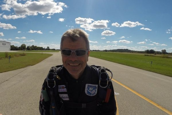 bo babovic on dropzone runway