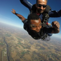 Tandem skydive at Wisconsin Skydiving Center near Chicago