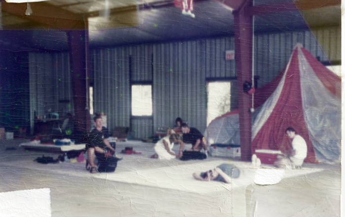 Hangar of Wisconsin Skydiving Center 20 years ago