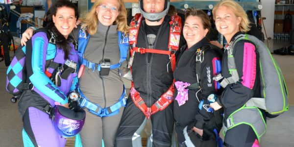 Wisconsin Skydiving Center hosts first time skydivers of all ages