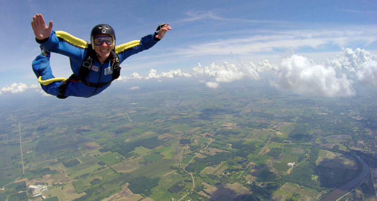 Leap Into Skydiving Lessons Wisconsin Skydiving Center
