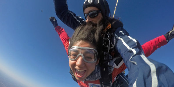 Is skydiving like therapy? We like to think so!