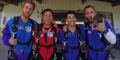 Skydiving is the perfect corporate team building activity!