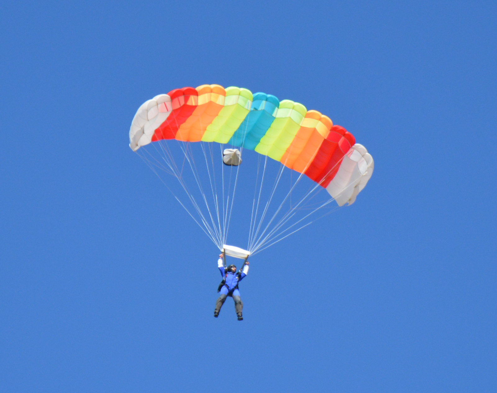 How Does a Parachute Work? | Wisconsin Skydiving Center