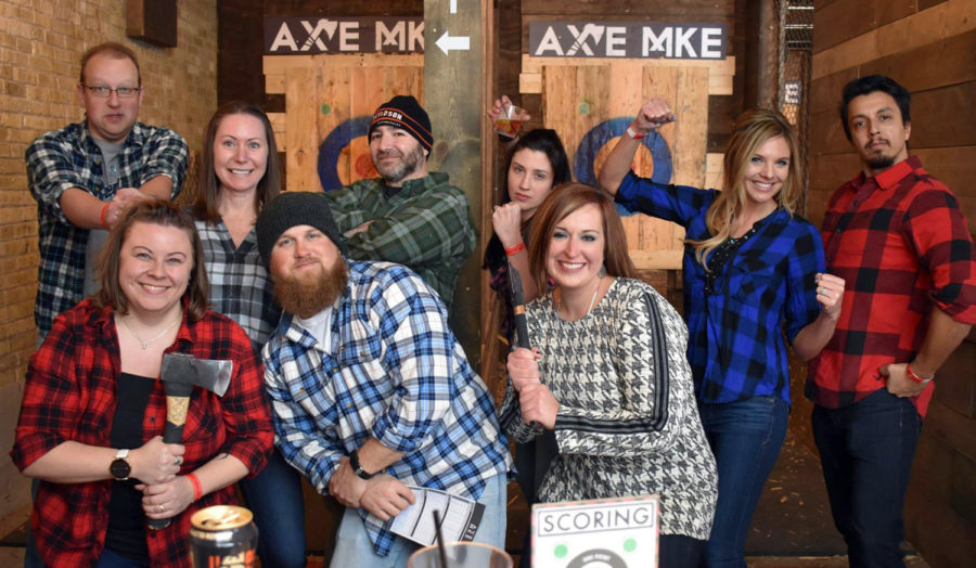 Axe throwing has to be definitely on of the most fun things to do in Milwaukee