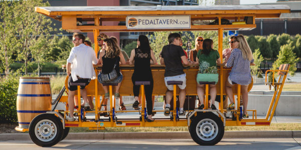 Fun things to do in Milwaukee - Pedal Tavern