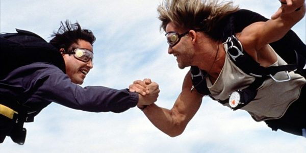 Skydiving movies like Point Break give a distorted image of the sport