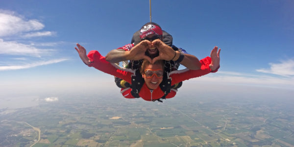 Need a unique birthday party idea for adults? Try skydiving!