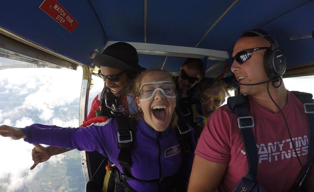Skydiving is the best graduation gift - Wisconsin Skydiving Center near Milwaukee