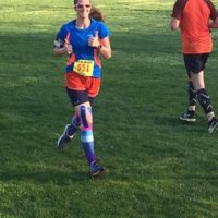 Erica's 17th marathon. 1 of 7 in a series in New England – 7 half's in 7 states in 7 days