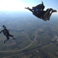 Video of tandem skydiving at Wisconsin Skydiving Center near Chicago