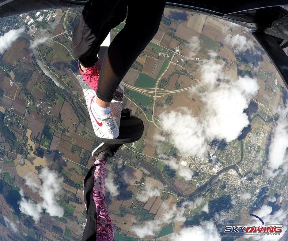 The best skydiving shoes at Wisconsin Skydiving Center near Chicago